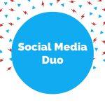 Logo van het Social Media Duo